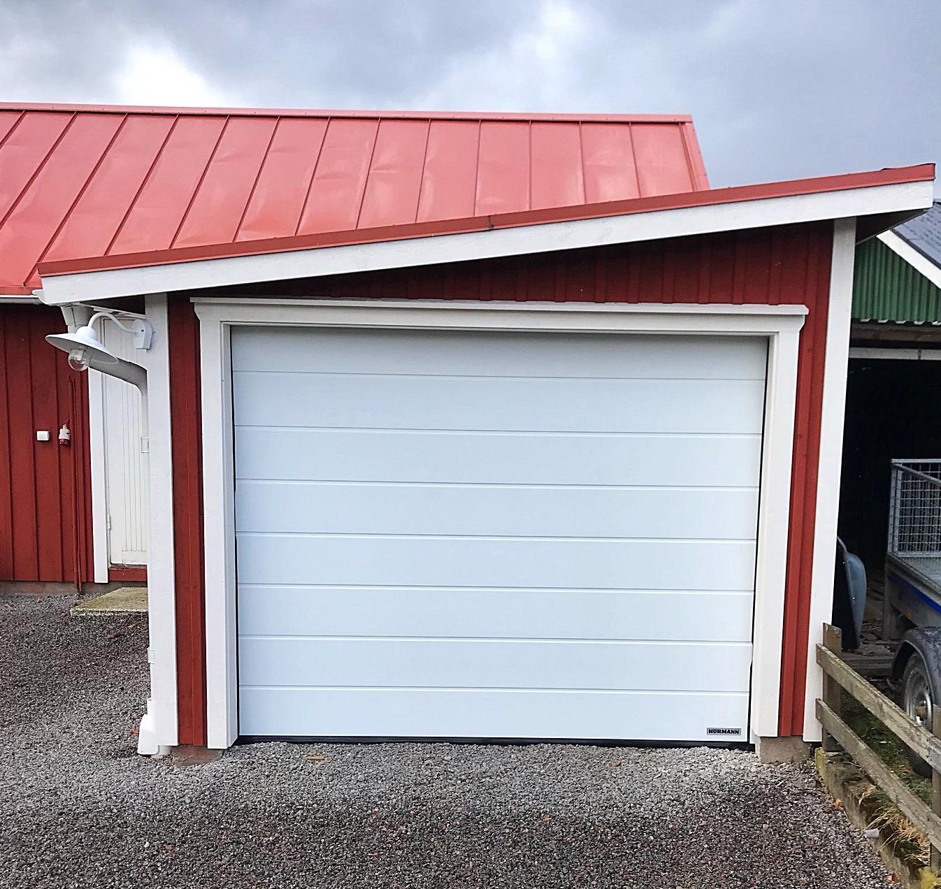 Hörmann garageport med motor!
